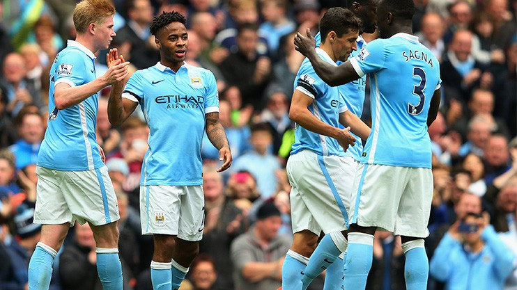 Celebration - will City be in celebratory mood after the clash with Sevilla?