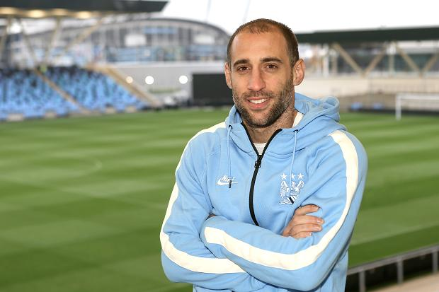 Zaba Daba Do - Pablo is back to play at either right or left full back. Courtesy@MCFC