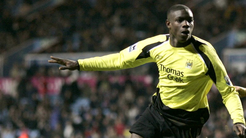 Rolling back the years - Micah Richards scored a last gasp equaliser for City against Villa in the FA Cup in February 2006. Courtesy@MCFC
