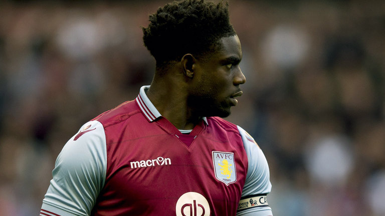 Ex-City favourite - Micah Richards is now the skipper at Aston Villa.