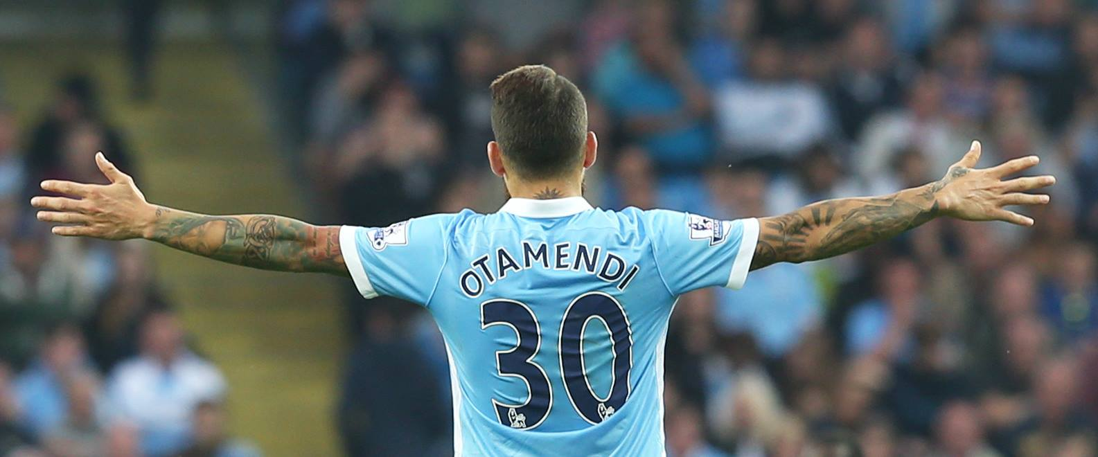 Yes to NO - Nicolas Otamendi is rapidly establishing himself as one of the finest defenders in the Premier League. Courtesy@MCFC
