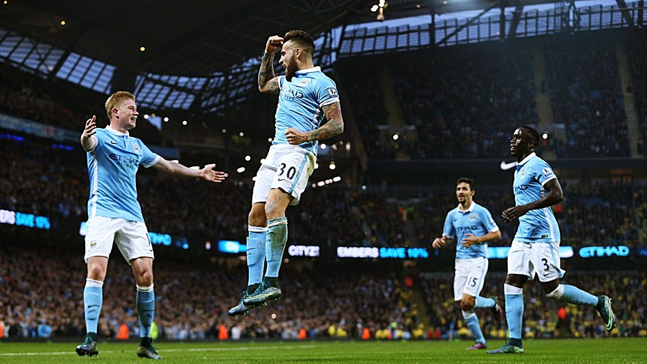 Sorely missed - Flying Argentine Nicolas Otamendi must start for City against Juventus.