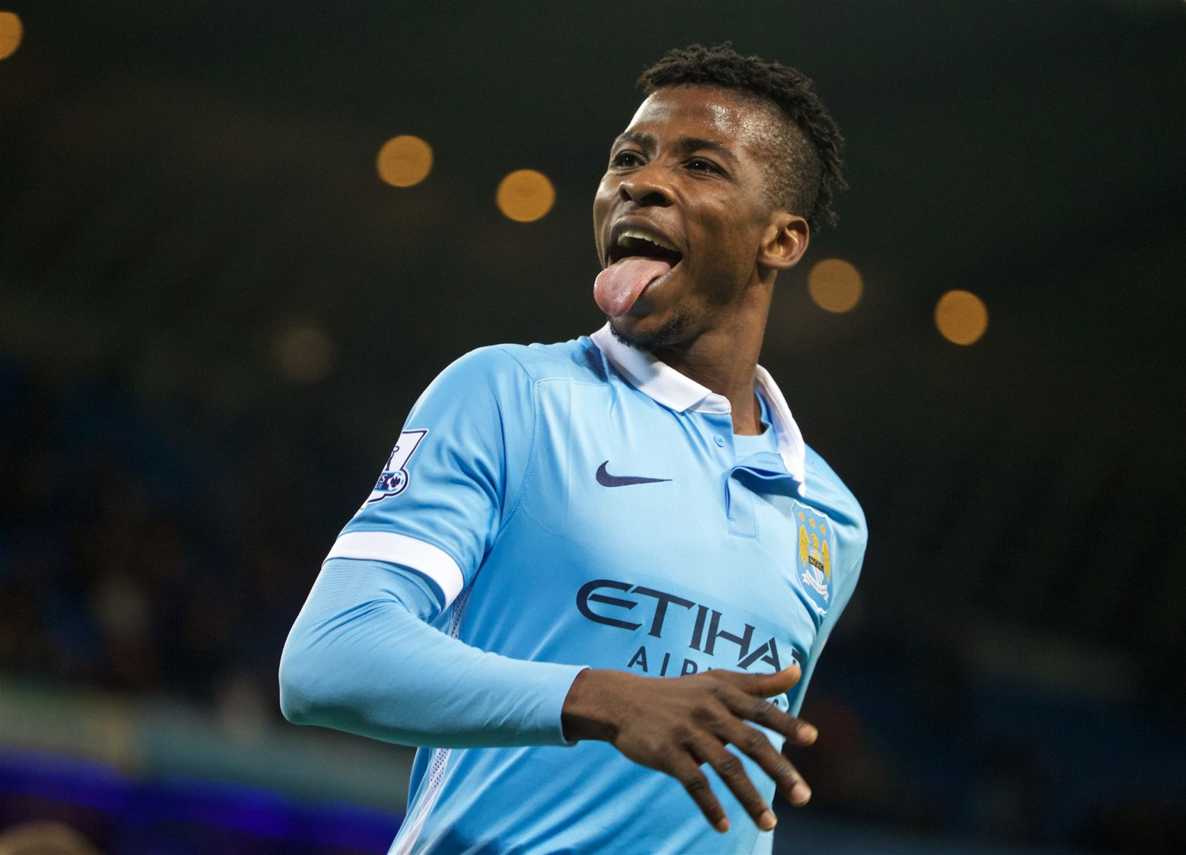 Academy star - Kelechi Iheanacho scored his third senior goal for City against Hull in the League Cup.