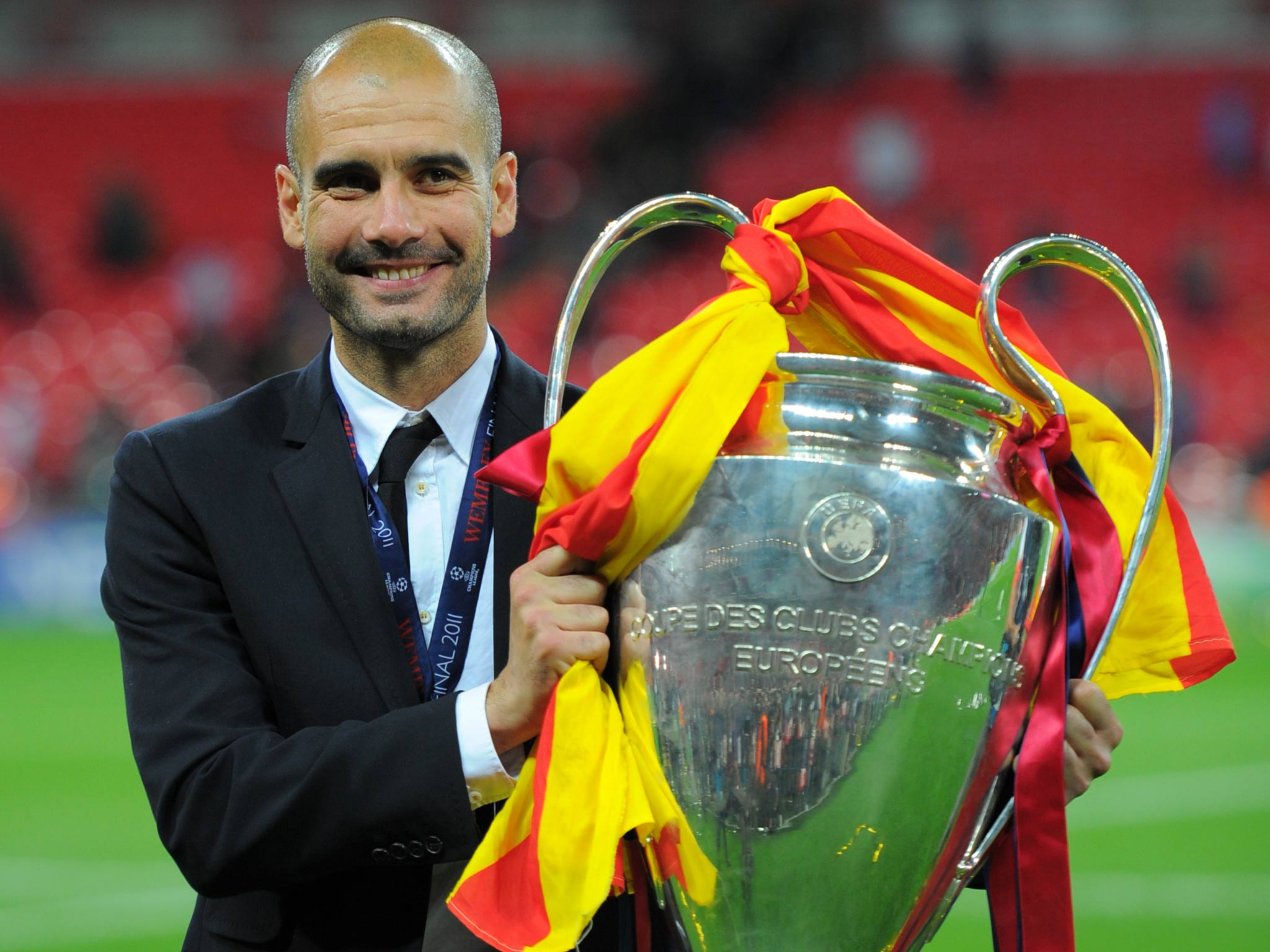 Pep tide - A wave of informed opinion says Guardiola is coming City's way next summer.