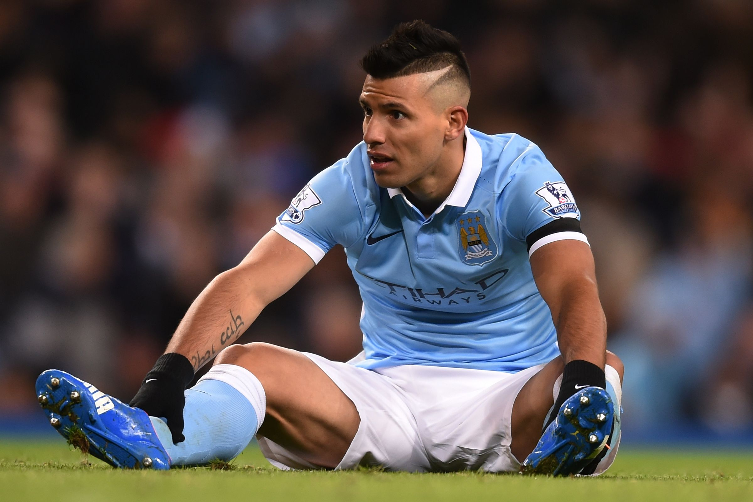 Down and out for now - Sergio misses his fourth game on the bounce, this time against Swansea.