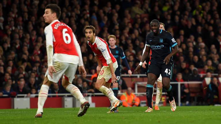 Too little too late - Yaya's 84th minute goal at Arsenal wasn't enough to salvage a point.