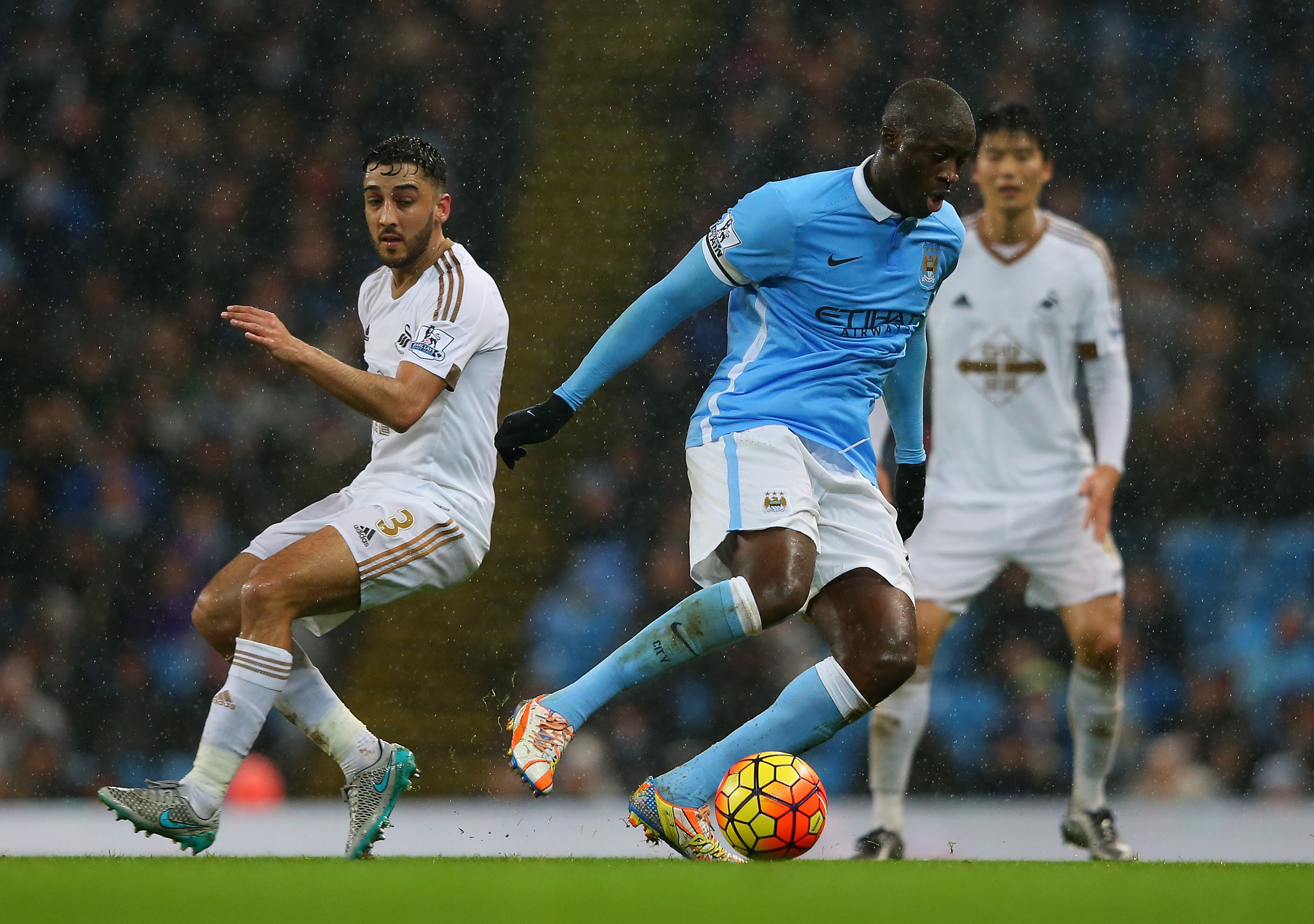 The Late Show - Yaya scored a time busting winner against Swansea at the Etihad.