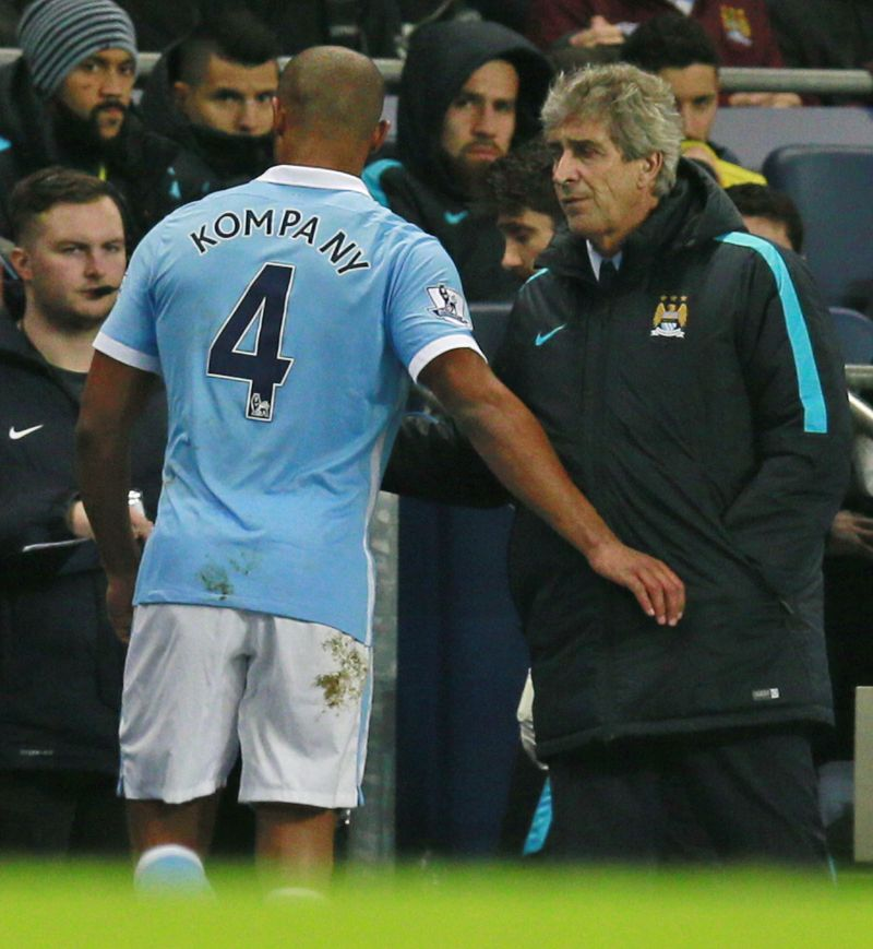 A time for leadership on and off the field. In Kompany's absence City need a new skipper on the pitch.