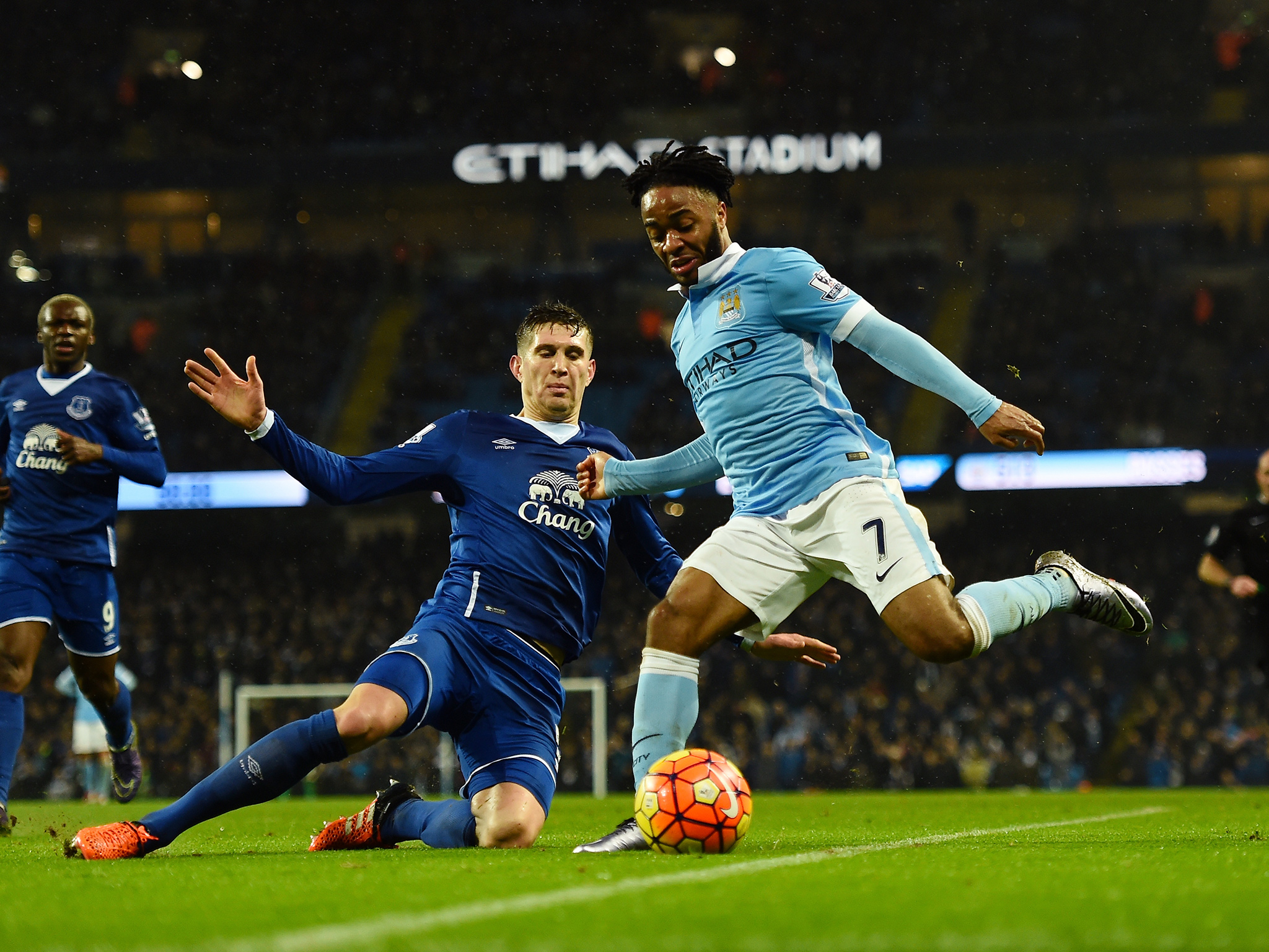 Stones' stonewall scandal - Referee Roger East was the only man in the world who didn't believe Raheem Sterling should have had a penalty when fouled by Everton's John Stones at the Etihad.