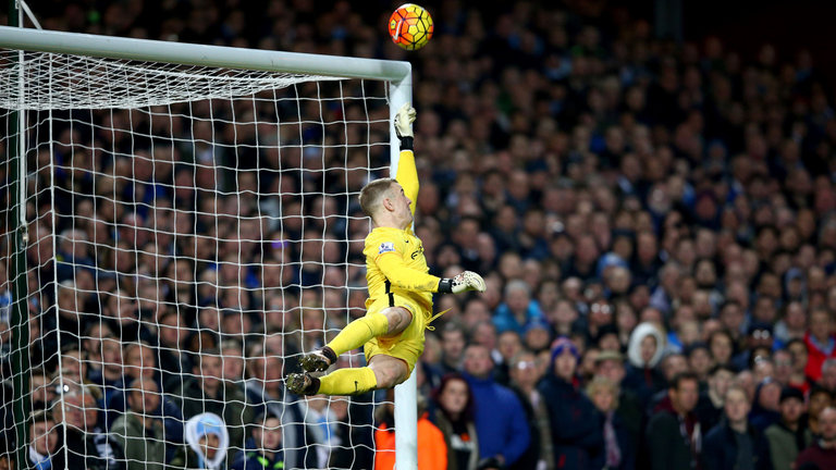 Save of the Season - High flying Hart's spectacular stop from Payet's free kick.