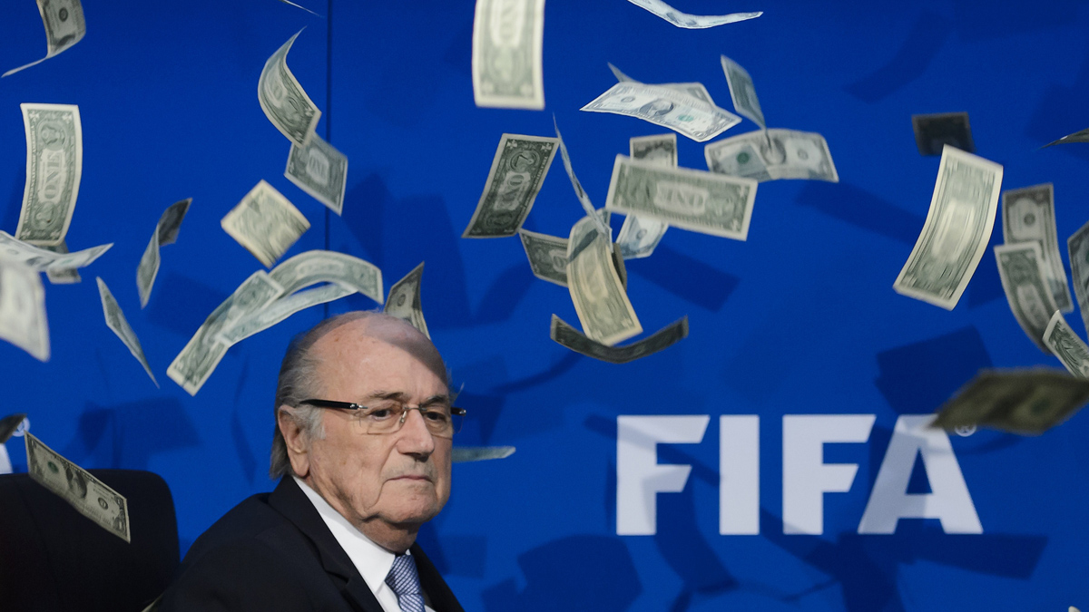 Scandal - football is riddled with corruption - does it extend into England?
