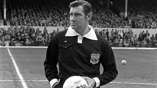 Gentleman Jack - England's Jack Taylor commanded respect during his career, culminating in him officiating the 1974 World Cup Final.