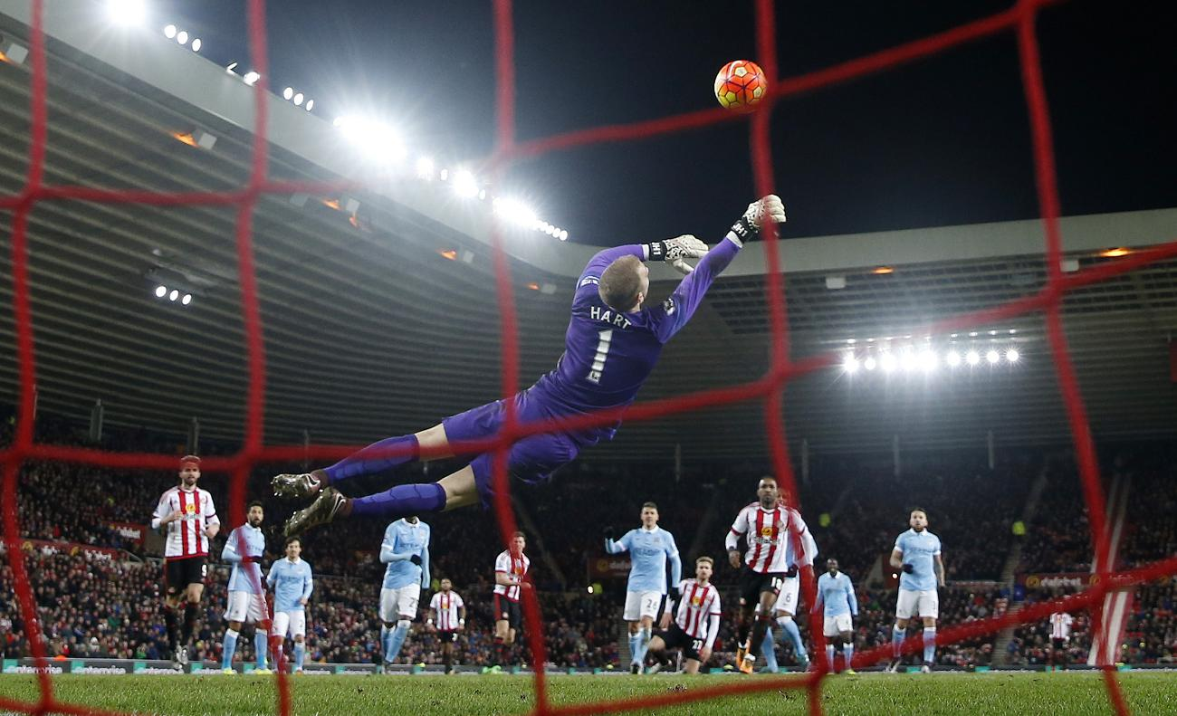 Hart-stopper - Joe and the team need to save City's title hopes from sliding away.