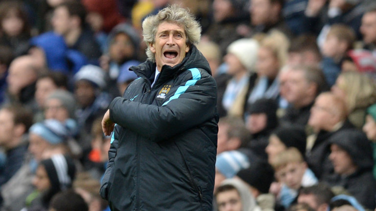 Pellegrini protest - Unhappy Manuel sees City outfoxed by Leicester last weekend.