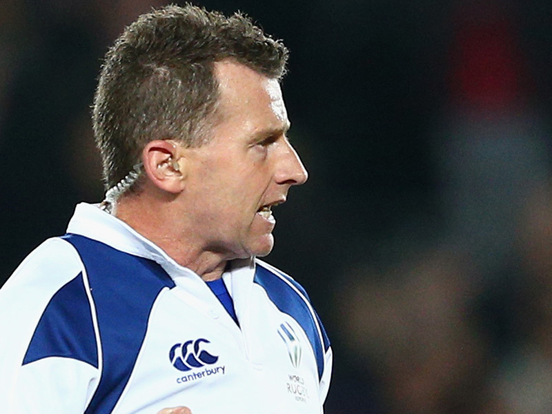 Integrity & transparency - Rugby Union referee Nigel Owens benefits from instant replay on key issues on the pitch.
