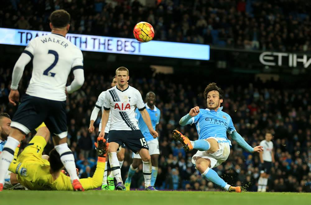 Silva salvage - Merlin came agonisingly close to grabbing an equaliser in the dying moments. Courtesy@MCFC