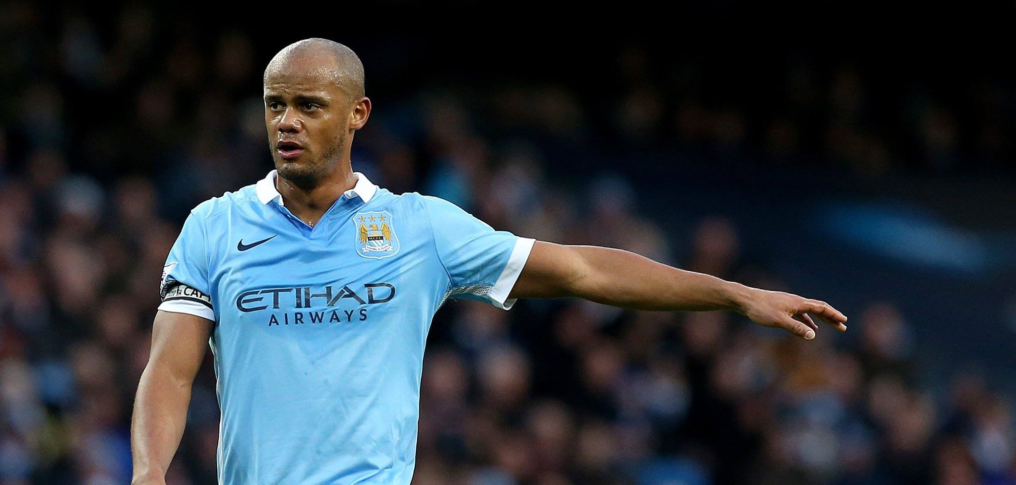 Pointing the way - Can Captain Kompany get City on track for the title?Courtesy@MCFC