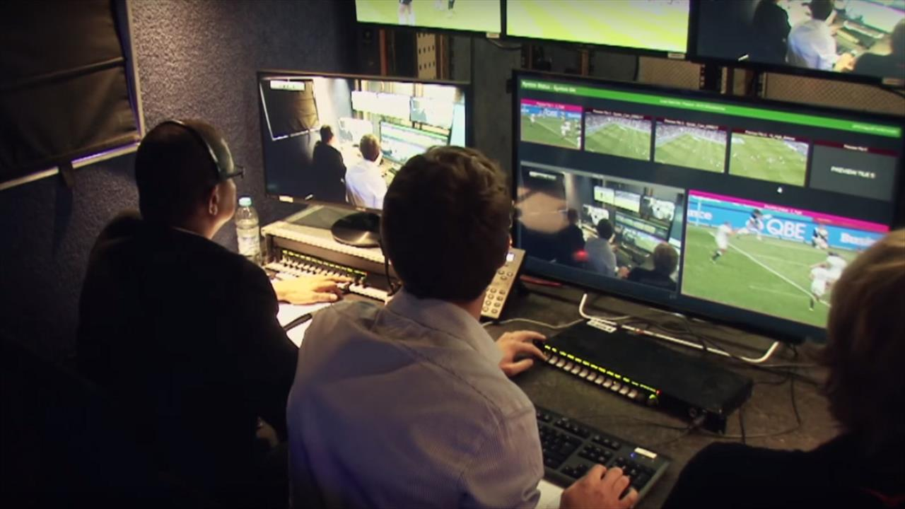 Help the Ref - Video technology is used successfully in rugby union, so why not football?