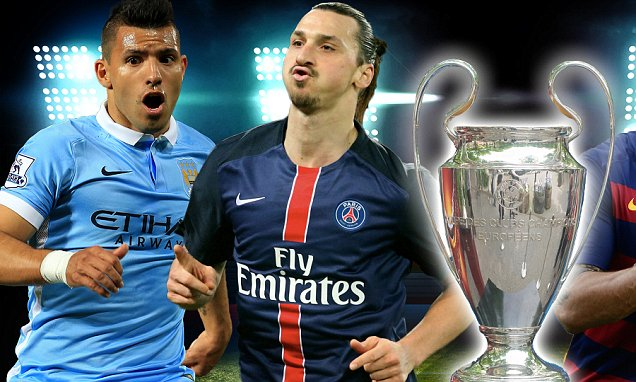 Rich pickings - City and PSG go head to head in their quest to be Champions of Europe.