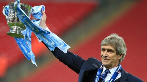 Silverware - Can Manuel add to his haul of three trophies for City before departing the Etihad this summer? Courtesy@MCFC
