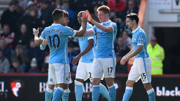 Fun in the Sun - KDB and City liked being beside the seaside with a 4-0 win at Bournemouth.