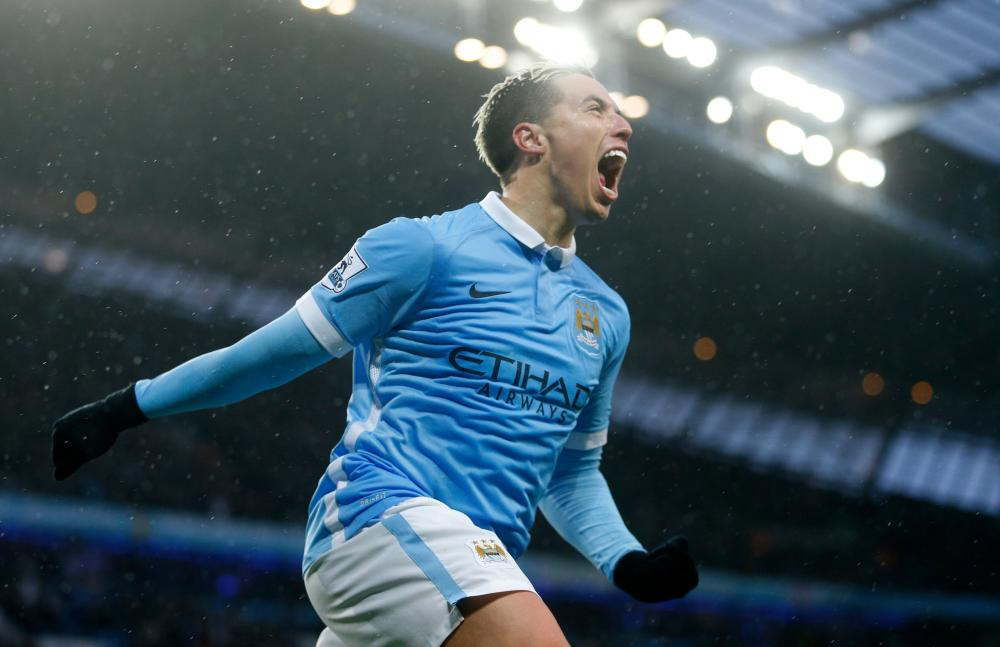 Off to sunny Spain - Nasri appears to have shunned a fight for a place in Pep's team and opted for Seville.