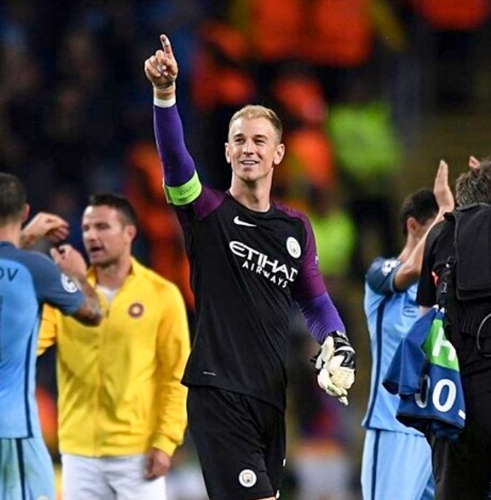 Turin bound - City will be heavily subsidising Joe Hart's move to Torino.