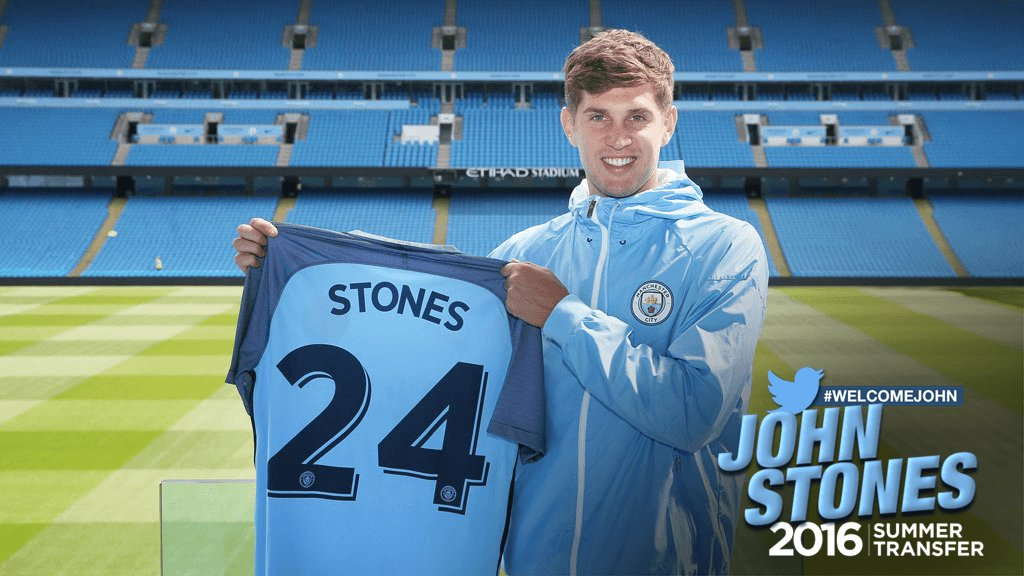 Shaping up nicely - John Stones is already looking like a bargain at a projected £50m.
