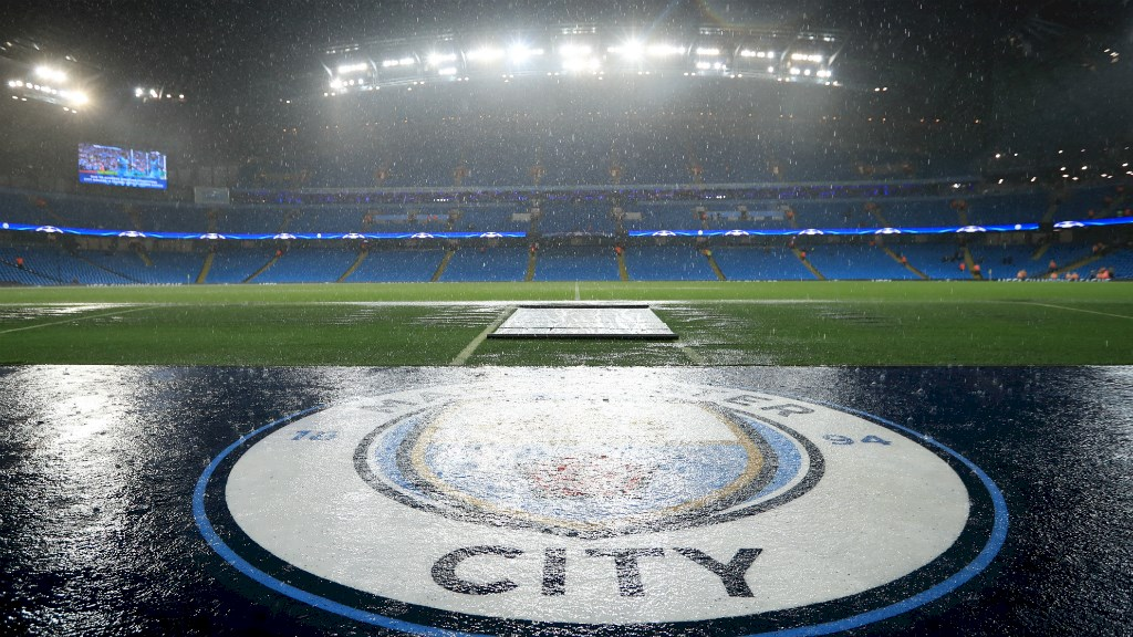 Forget Blue Mondays - City were washed out on a very Wet Tuesday.