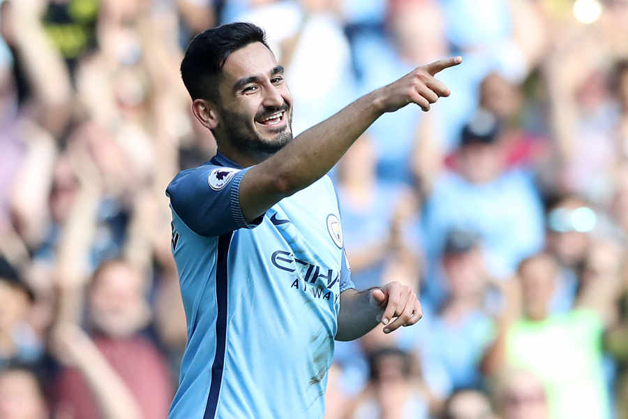 Class act - Ilkay Gundogan has looked hugely impressive in his first two City appearances.