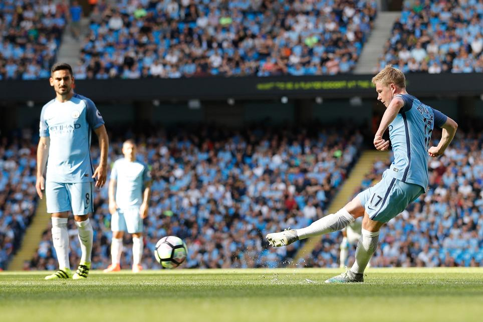 Premier League brilliance - KDB scores a cracker against Bournemouth.