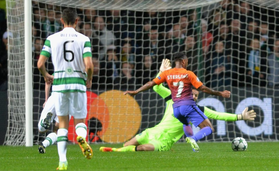 Sterling return - Raheem scored with another super cool finish to make it 2-2 in Glasgow.