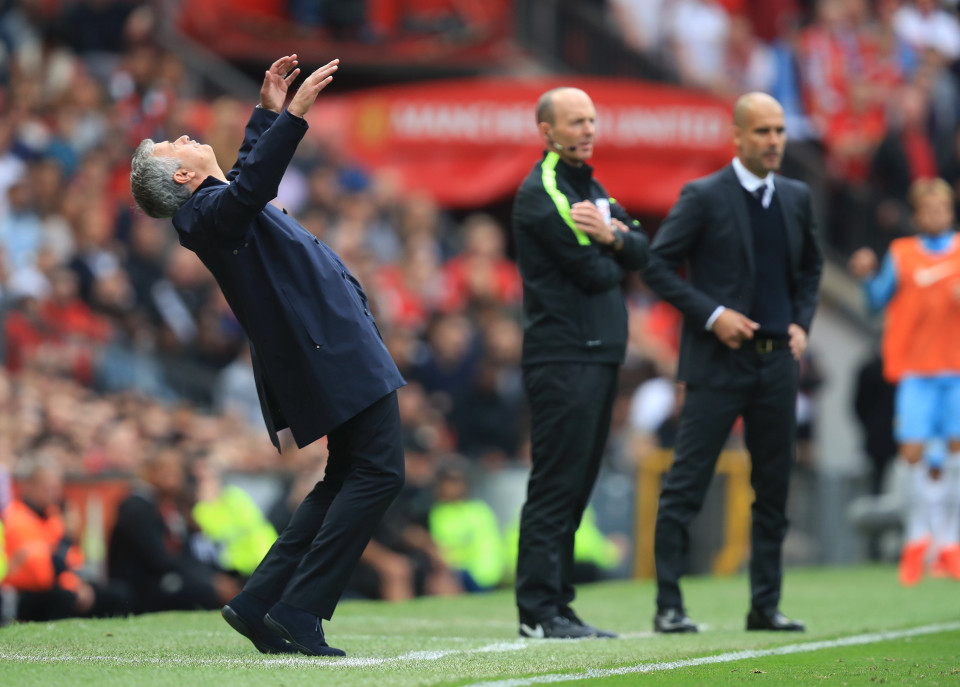 Jose throwing 'some shapes' as United danced to City's tune at The Swamp.