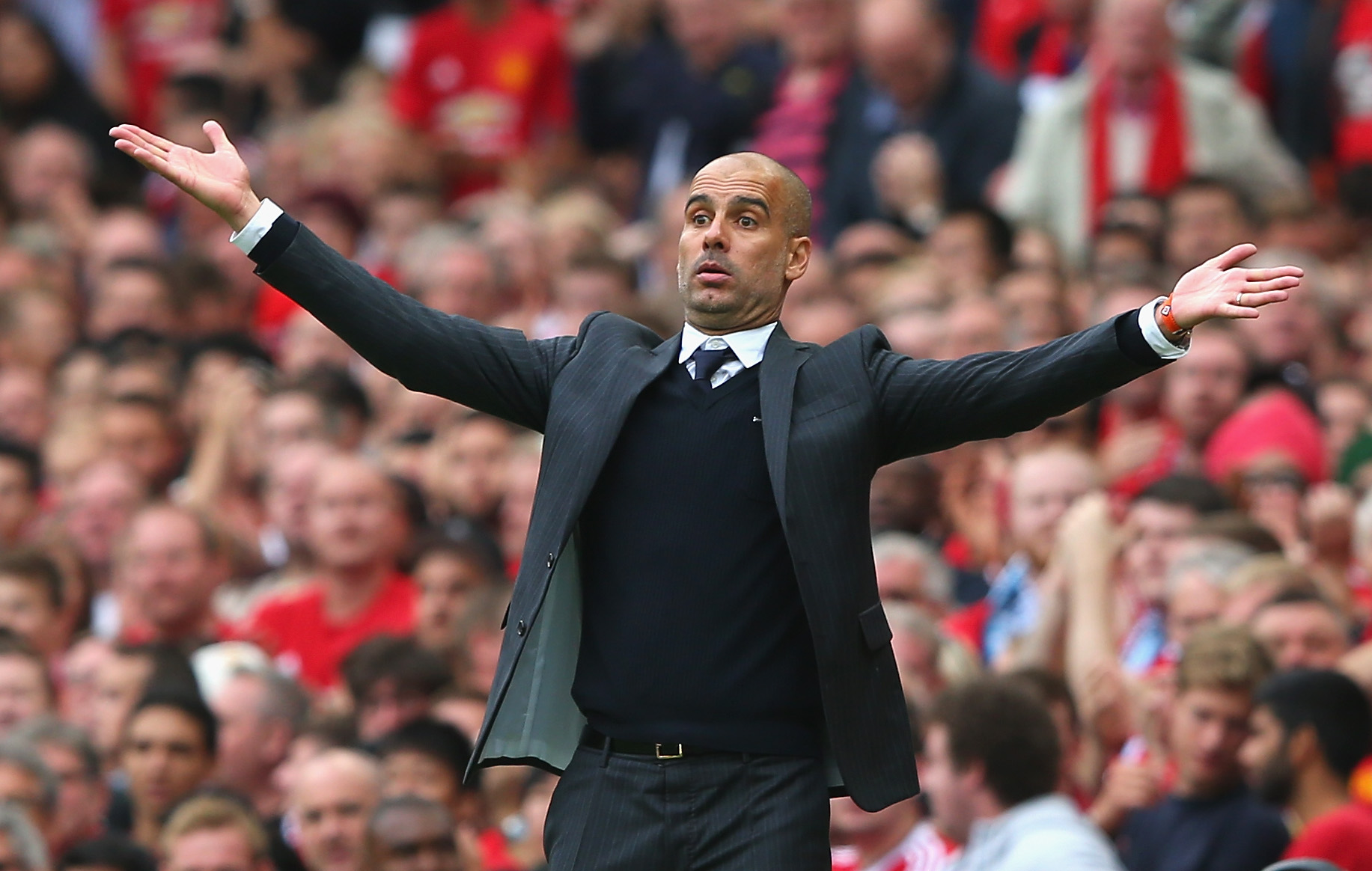 So, Pep - how big is the chasm between City and United?