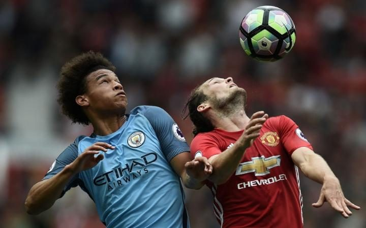 What an insane way to make your City debut - Leroy Sane now has a 100% win record against United.