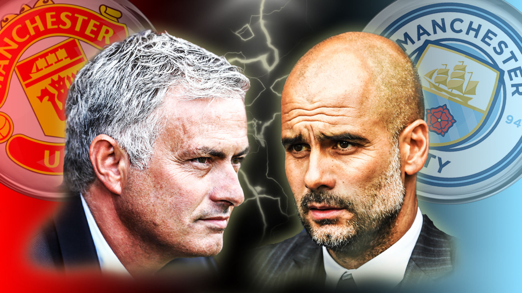 No love lost - Mourinho and Guardiola have a deep rooted dislike for each other.