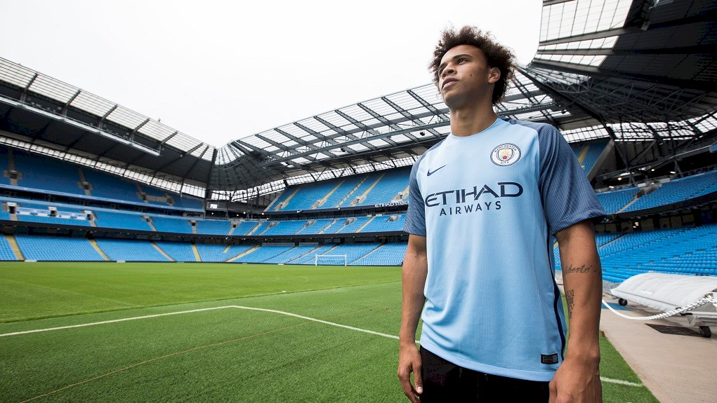 Leroy Sane could make it an insane trip to Trafford Borough for City's fans if he marks his debut with a win.