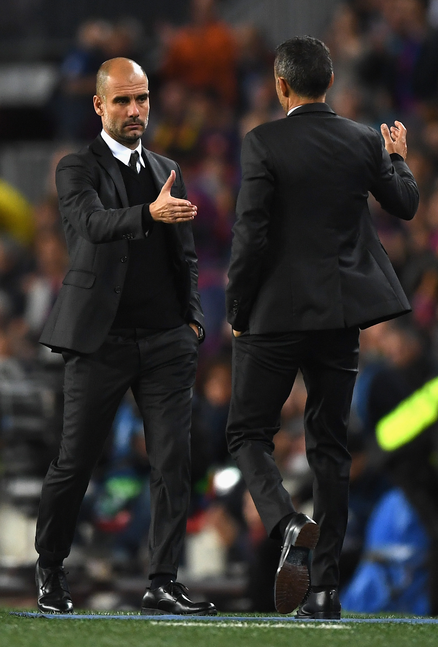 Gracious in defeat, but Guardiola doesn't intend to taste too many losses as he strives to make City the top club in English and European football.