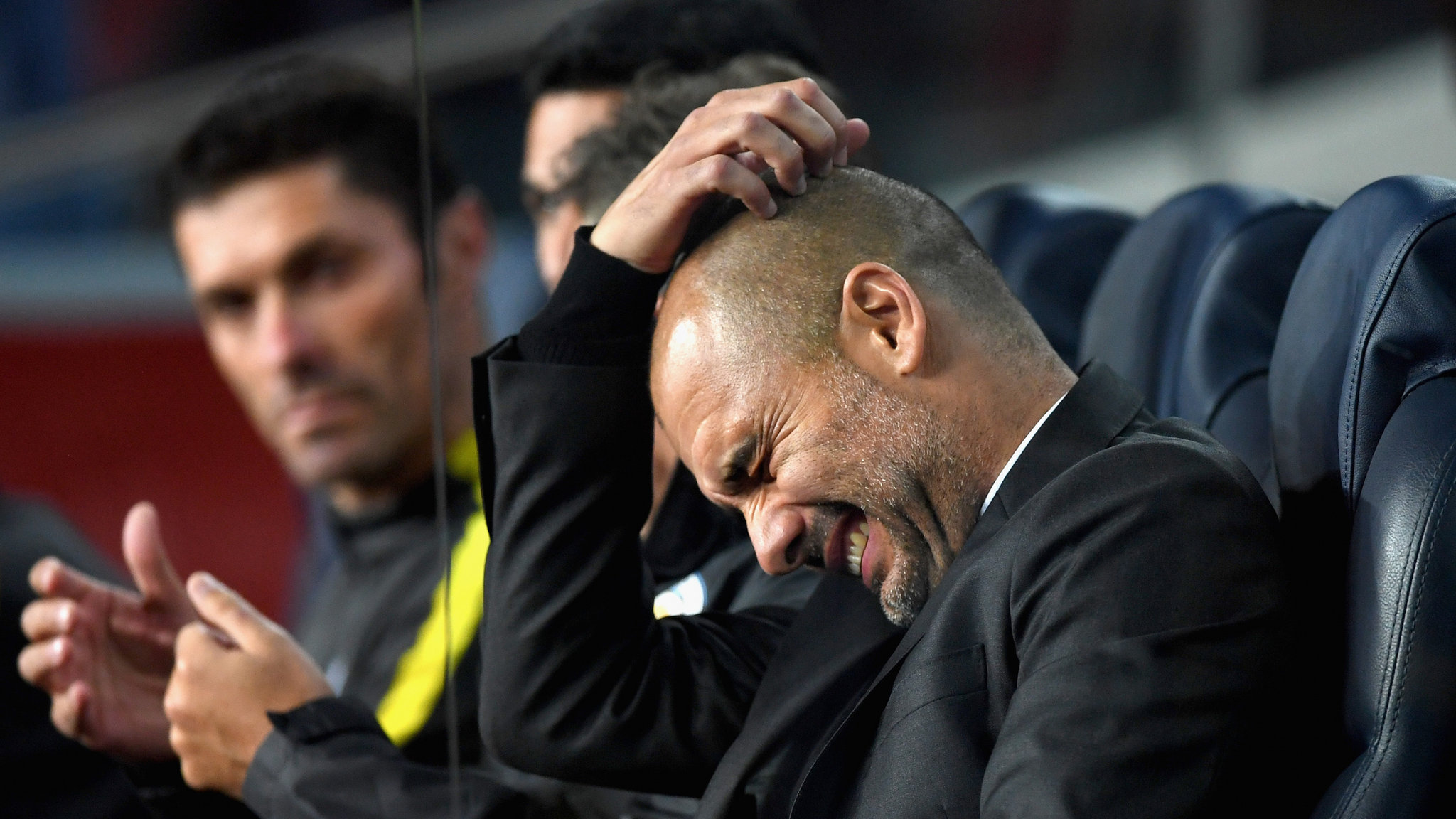 Frustrated Genius - Pep is find the Premier League to be more challenging than La Liga and the Bundesliga - but he'll get it right.