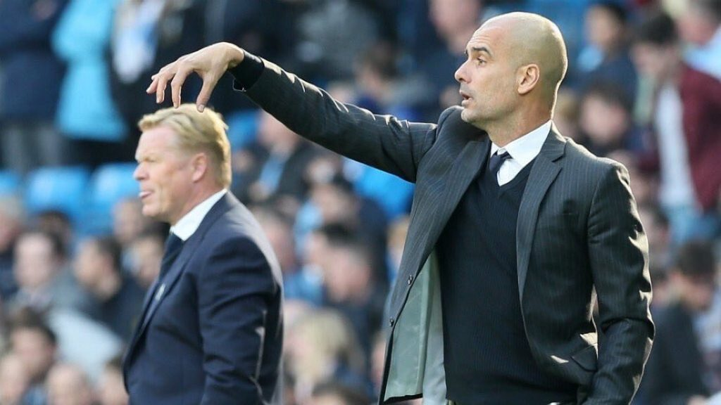 Koeman compliment - Everton's boss said Pep's City were the best team he had ever played against in his entire managerial career.