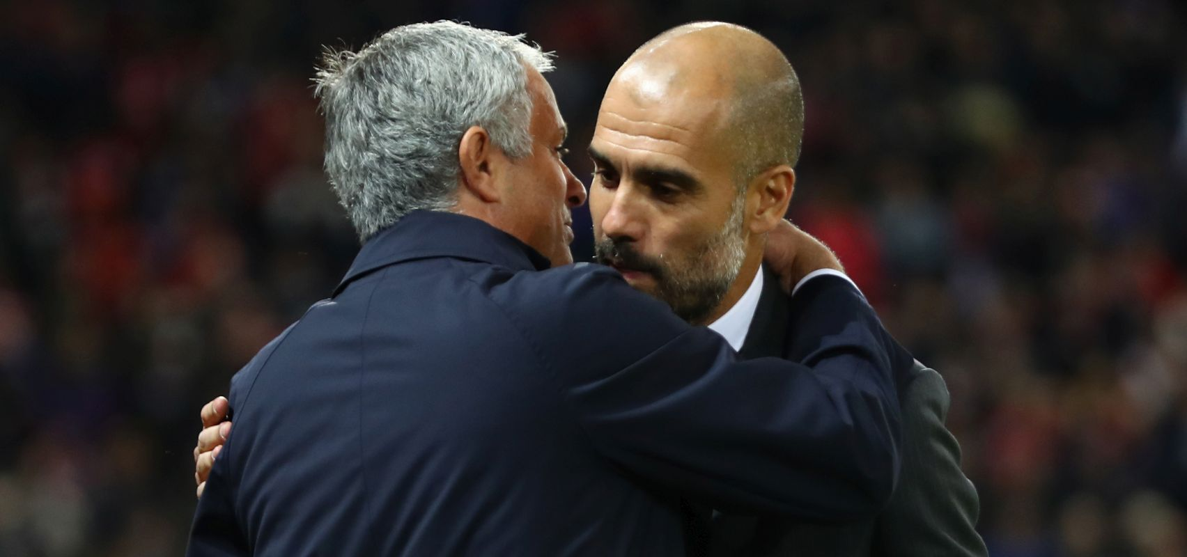 Guardiola gracious in defeat with Mourinho, but the outlook is better for Pep's City, than Jose's United.