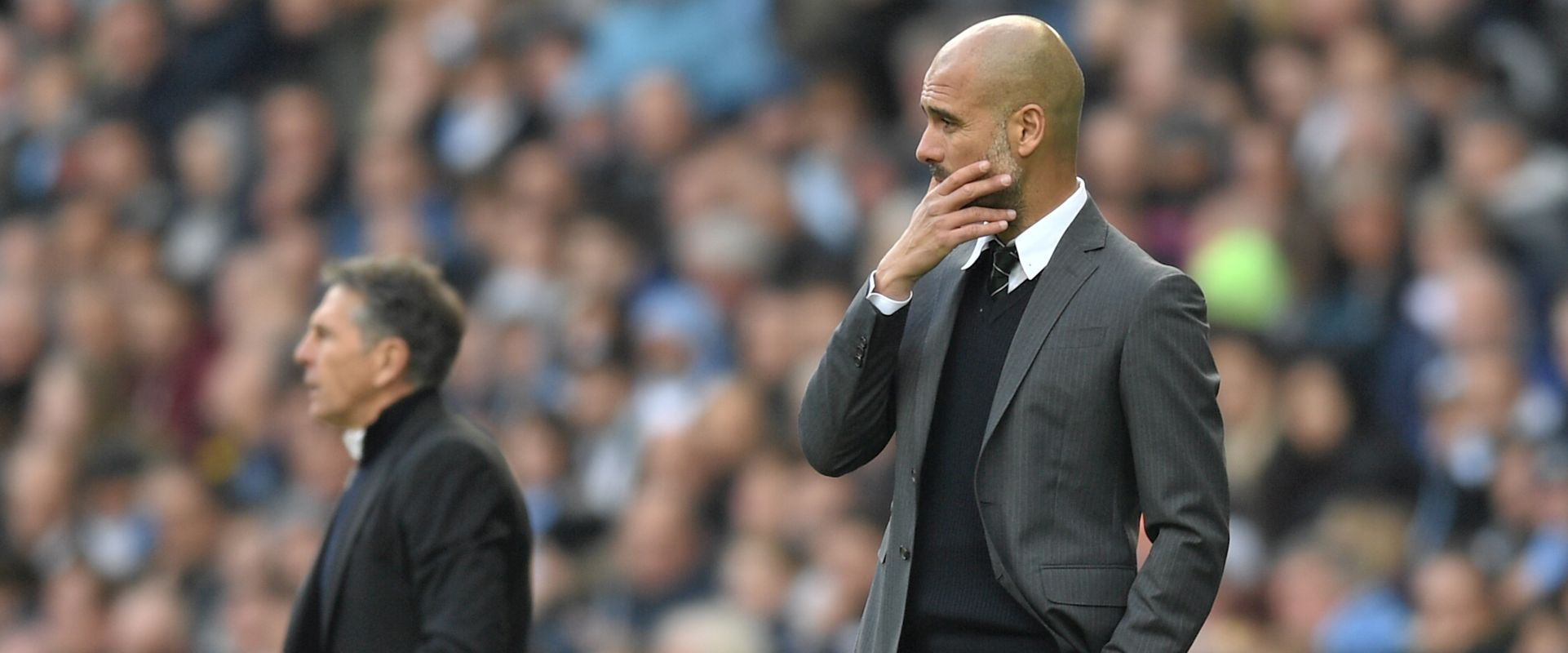 Pondering Pep - Guardiola is trying to figure out how to get City back to their early season all-conquering form.