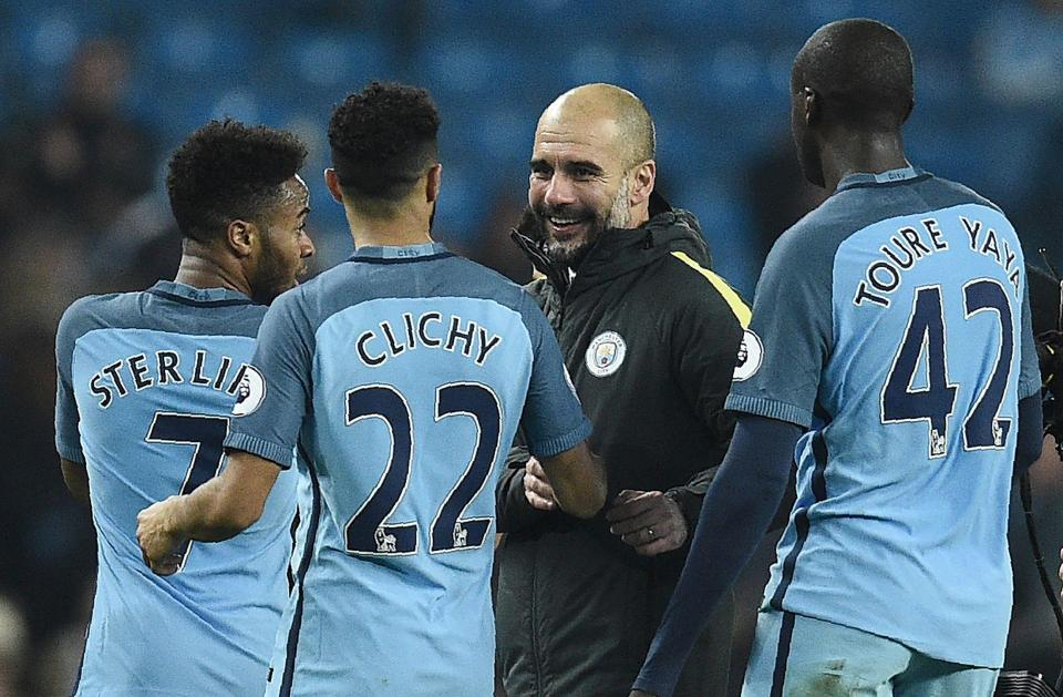 Guardiola's debut season in England could yet up full of smiles.