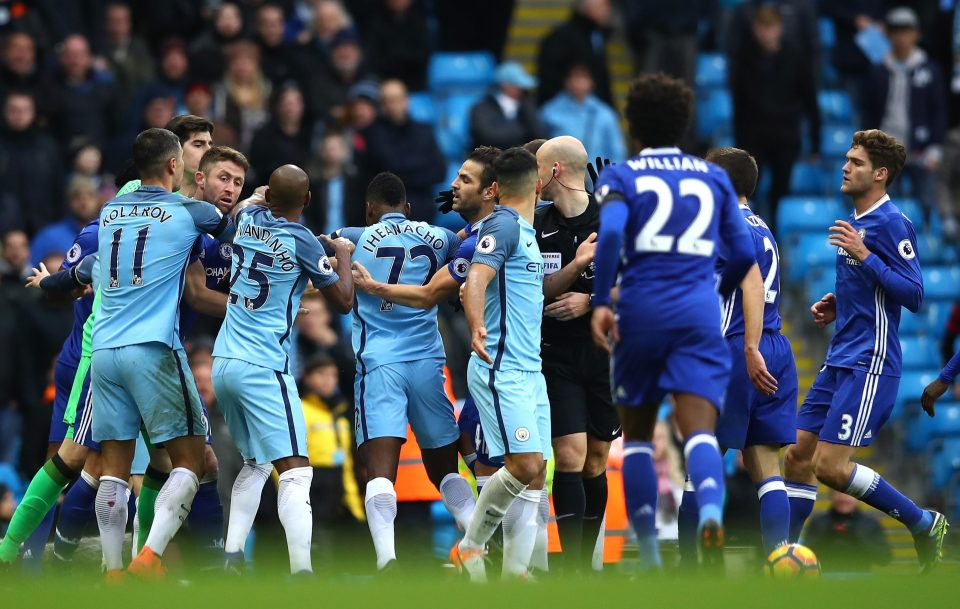 Incompetent or something more sinister?Anthony Taylor may as well have been wearing Chelsea blue as City lost 3-1 in a highly charged and hugely controversial encounter.