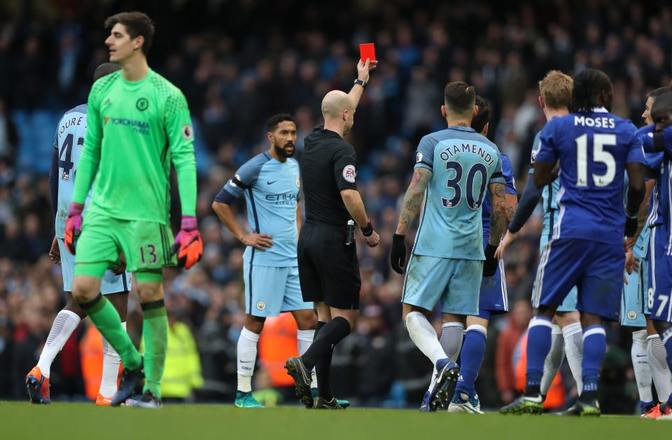 City are 8 points adrift of Chelsea, but it could so easily be just two, were it not for ref Anthony Taylor!