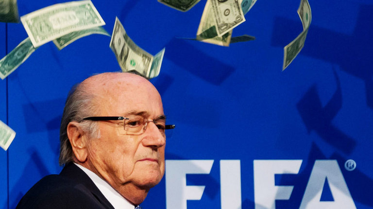 Bent - FIFA was, possibly still is, corrupt to the core but President Sepp Blatter got away with it for decades.