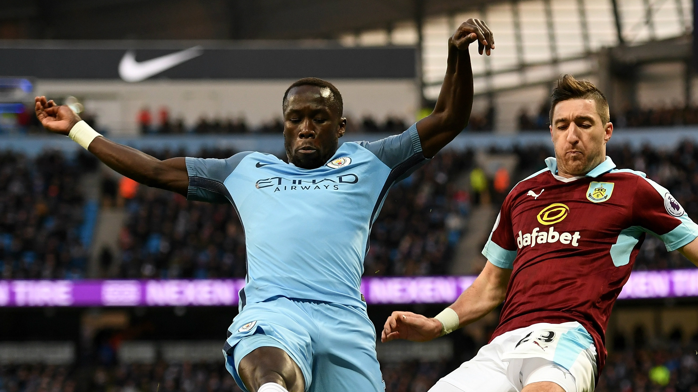 10 against 12 - City's Bacary Sagna faces an FA charge of misconduct after venting his frustrations on social media following the 2-1 win over Burnley.