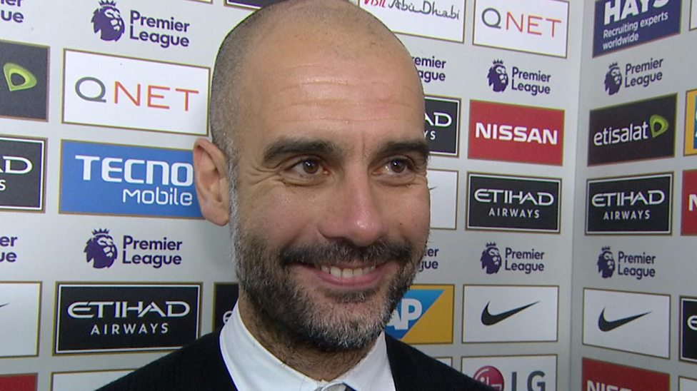 Short shrift - Guardiola quite rightly treated idiotic interviewers with the contempt they deserved after the Burnley game.