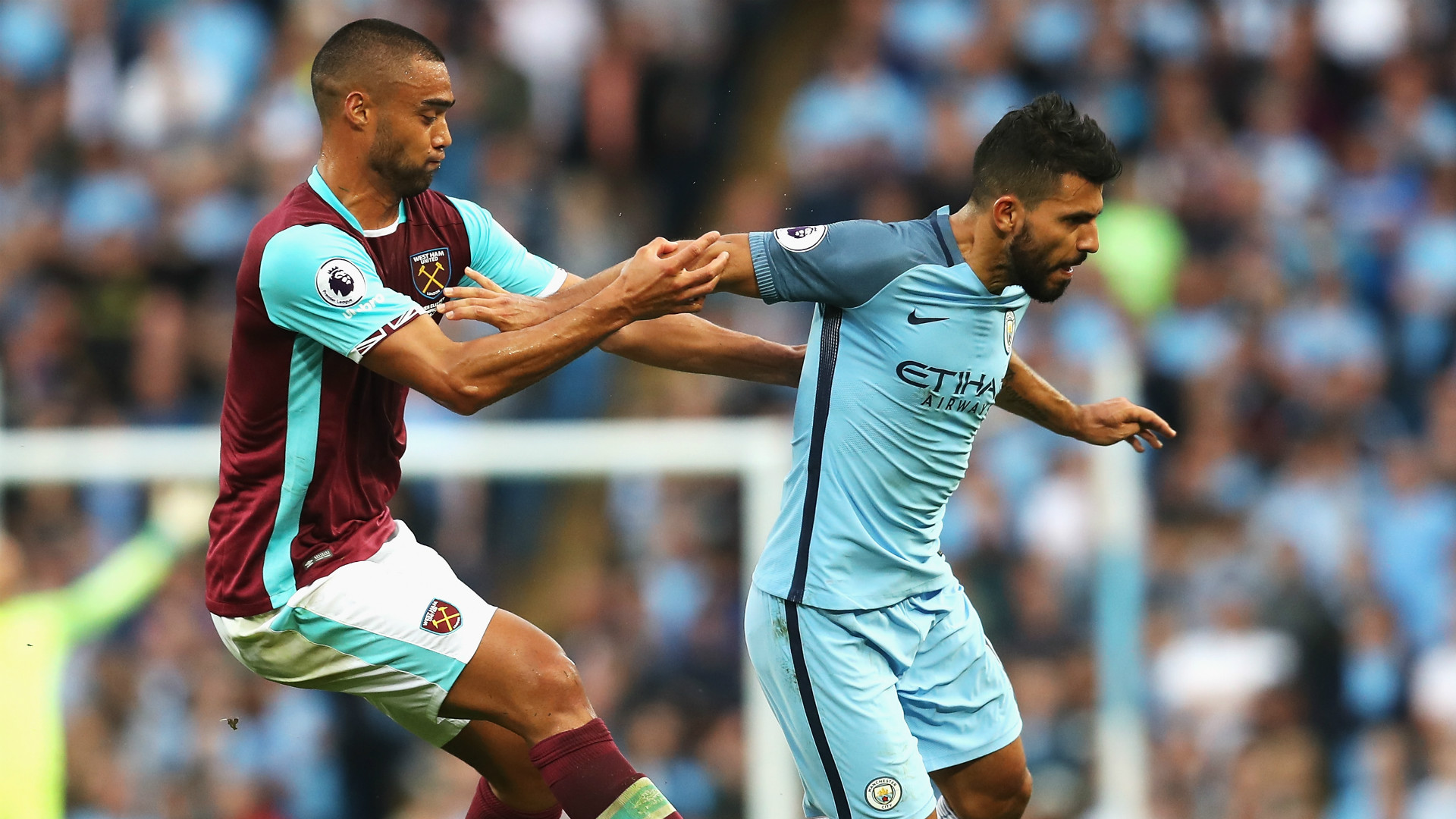 Apparently Andre Marriner 'missed' the controversial Aguero-Reid challenge when City played West Ham last August.