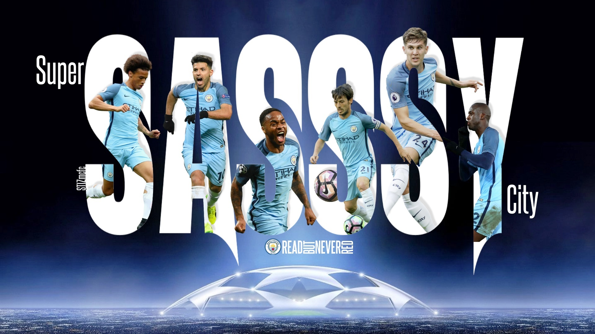 Super SASSSY City - another great bespoke graphic created by Stiz from our BlueRoom sponsors.